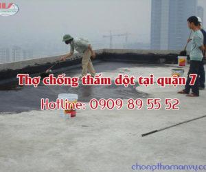 Dịch vụ chống thấm tại quận Tân Bình