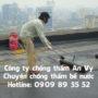 Phương pháp chống thấm bể nước bằng màng HDPE
