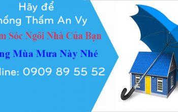 Dịch vụ chống thấm giá rẻ tại tphcm
