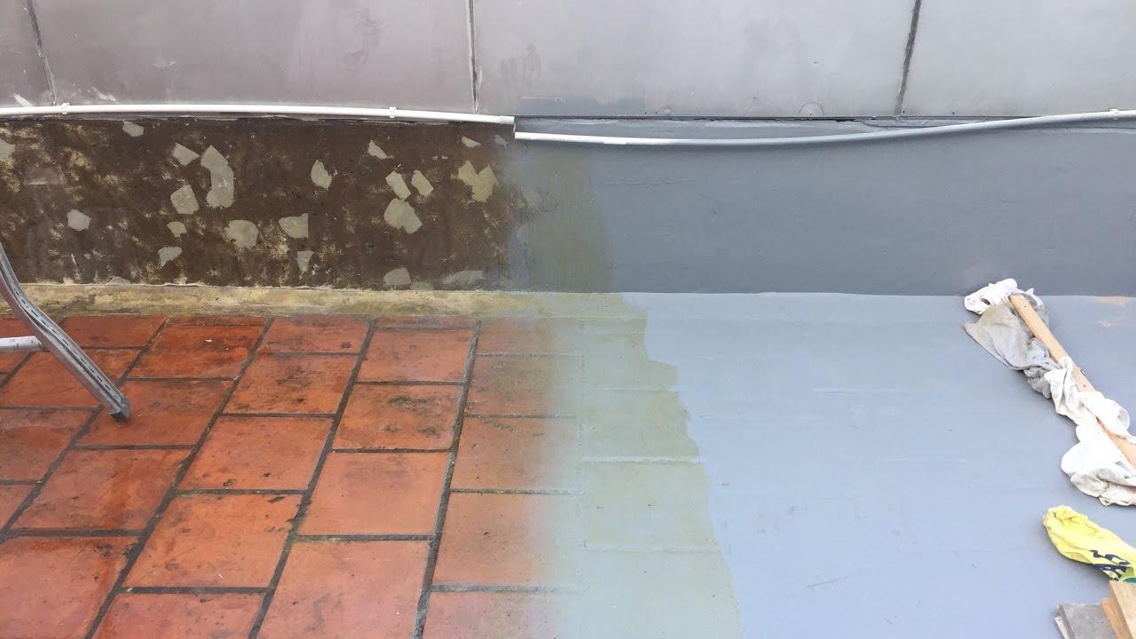 chống thấm sân thượng lát gạch